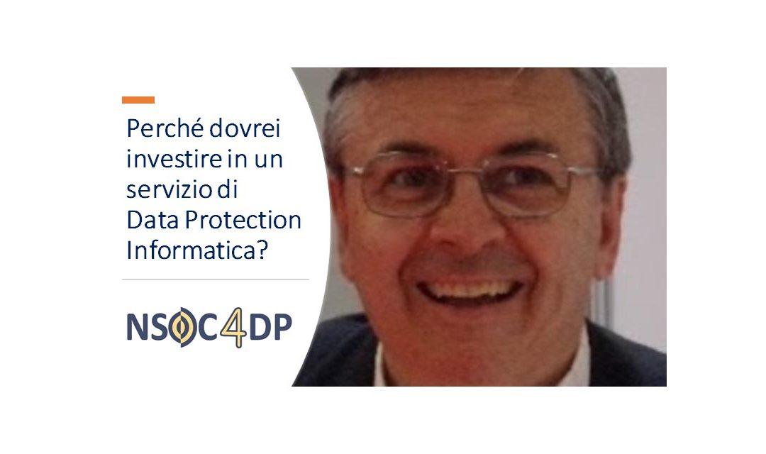 Perché dovrei investire in un servizio Digital Data Protection?